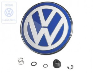 EMBLEMAT ZNACZEK TYŁ BLUE VW NEW BEETLE 98-05