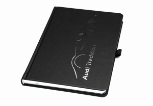 NOTATNIK AUDI TRADITION SILVER BOOK 192strony
